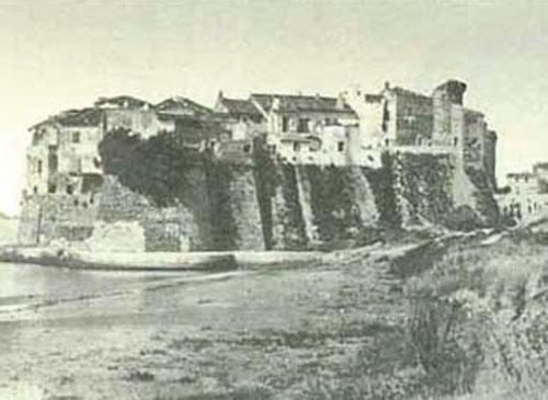 Borgo medioevale, primi '900.